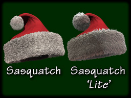 CGI XMas Cap for LightWave, with Sasquatch Fur!